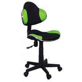 Kancelárske kreslo Q-G2 (zelená + čierna)
