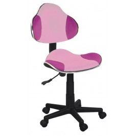 Kancelárske kreslo Q-G2 (ružová)