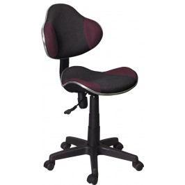Kancelárske kreslo Q-G2 (fialová + čierna)