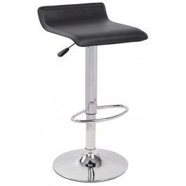 Barová stolička A-044 (ekokoža čierna)