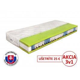 Taštičkový matrac Benab Seven Zone Ergonomic 200x90 cm (T3/T4) + vankúš a chránič matraca