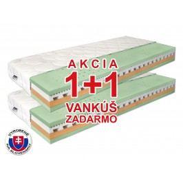 Penový matrac Benab Omega Flex Duo 200x70 cm (T3/T4) *AKCIA 1+1 + 2 vankúše