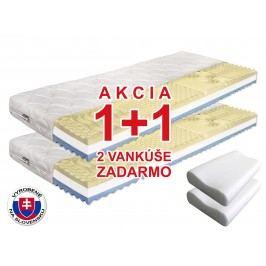 Penový matrac Benab Visco Plus 200x70 cm (T3/T4) *AKCIA 1+1 + dva vankúše zadarmo