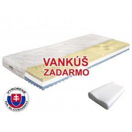 Penový matrac Benab Visco Plus 200x80 cm (T3/T4) *vankúš zadarmo