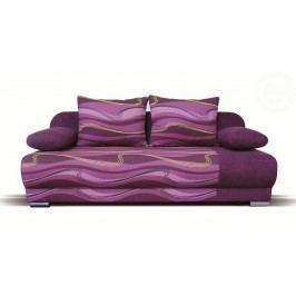 Pohovka trojsedačka Verona (fialová) CASA-4043