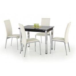Jedálenský stôl Logan čierna (pre 4 až 6 osôb)