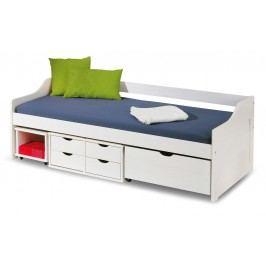 Jednolôžková posteľ 90 cm Floro (s roštom)