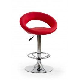 Barová stolička H-15 červená
