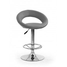 Barová stolička H-15 šedá
