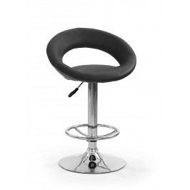 Barová stolička H-15 čierna