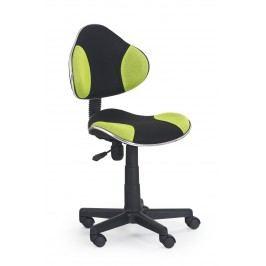 Detská stolička Flash čierna + zelená