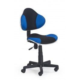 Detská stolička Flash čierna + modrá