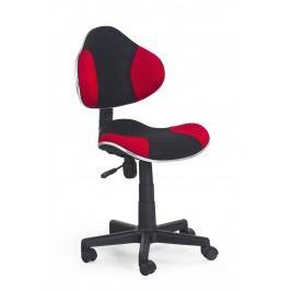 Detská stolička Flash čierna + červená