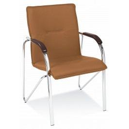 Jedálenská stolička Samba hnedá