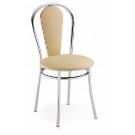 Jedálenská stolička Tulipan Plus béžová