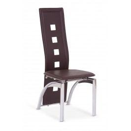 Jedálenská stolička K4 tmavohnedá