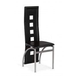 Jedálenská stolička K4 M čierna
