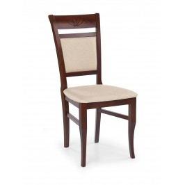 Jedálenská stolička Jakub Čerešňa antická + mesh 1