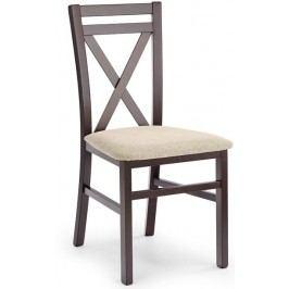 Jedálenská stolička Dariusz orech tmavý