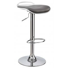 Barová stolička H-60 (čierna + biela)