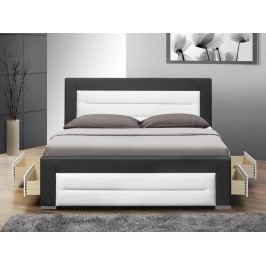 Manželská posteľ 160 cm Nazuka (s roštom)