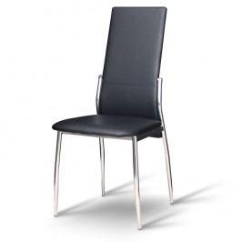 Jedálenská stolička Solana čierna