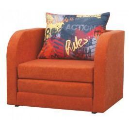 Kreslo Reno oranžová