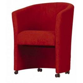 Kreslo Eliza červená