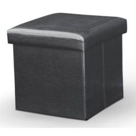 Taburetka Tela čierna