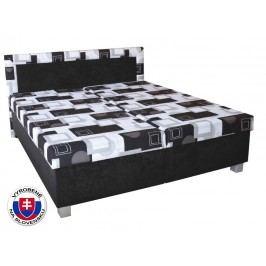 Manželská posteľ 180 cm Maja (s molitanovým matracom)