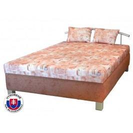 Manželská posteľ 140 cm Maša (s molitanovým matracom)