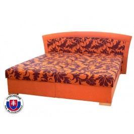 Manželská posteľ 180 cm Pescara (s pružinovým matracom)