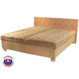 Manželská posteľ 160 cm Tamara (s pružinovým matracom)