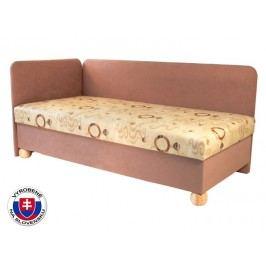 Jednolôžková posteľ (váľanda) 80 cm Siba (s pružinovým matracom) (L)
