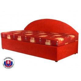 Jednolôžková posteľ (váľanda) 90 cm Kavy (so sendvičovým matracom) (L)