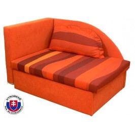 Detská posteľ 80 cm Kubo (s molitanovým matracom) (P)