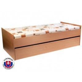 Rozkladacia posteľ 90 cm Nika 2 (s roštami, bez matracov)