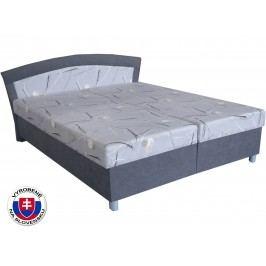 Manželská posteľ 160 cm Brigita (so 7-zónovým matracom lux)