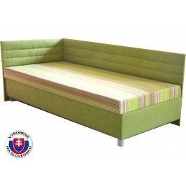 Jednolôžková posteľ (váľanda) 110 cm Etile 2 (so 7-zónovým matracom štandard) (L)