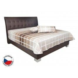 Manželská posteľ 180 cm Blanár Sara (hnedá) (s roštom)