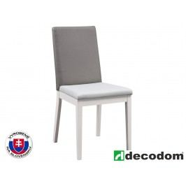 Jedálenská stolička Decodom Venda (pino aurelio + sivá)