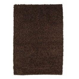 Ručne viazaný koberec Bakero Damru Coke brown 212