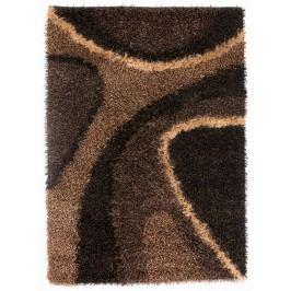Ručne viazaný koberec Bakero Delphi Coffee brown