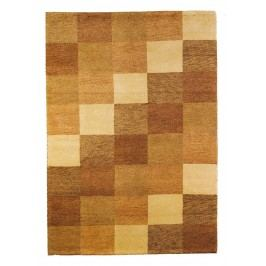 Ručne viazaný koberec Bakero Baku Box Beige