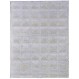 Ručne viazaný koberec Bakero Kandla 2839 White
