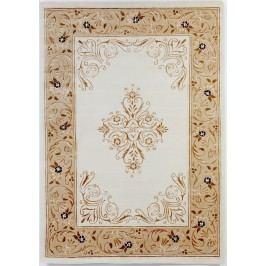 Ručne viazaný koberec Bakero Paris 1834A White