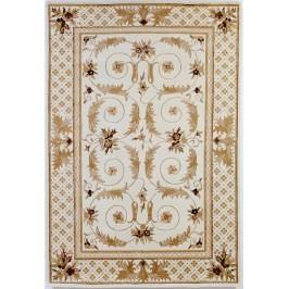 Ručne viazaný koberec Bakero Paris 2318 White