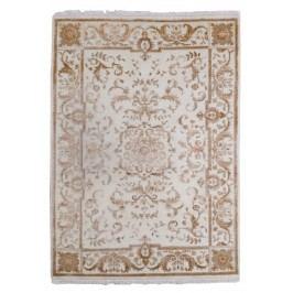 Ručne viazaný koberec Bakero Agra D24 White