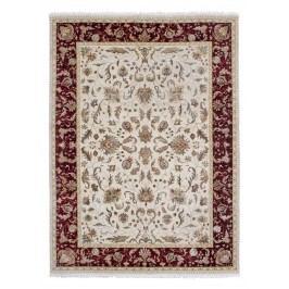 Ručne viazaný koberec Bakero Begam Beige-Red