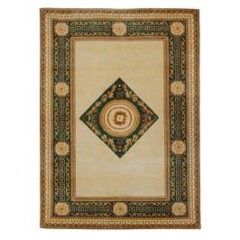 Ručne viazaný koberec Bakero Bakero 5006-7001 Vanilla/Green